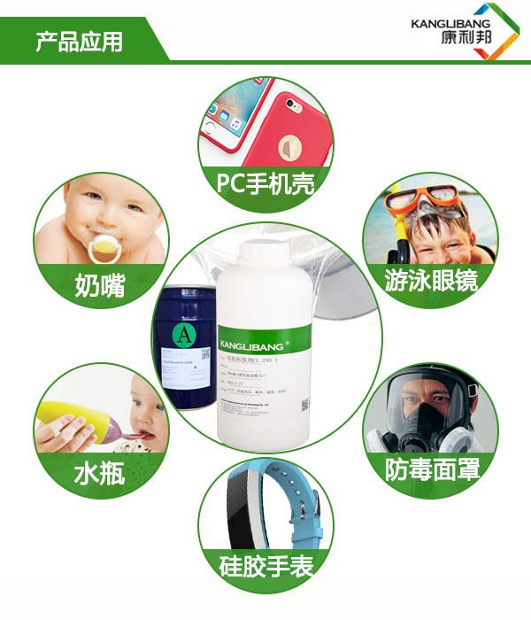 CL-24S硅胶粘PC/玻璃胶水产品应用